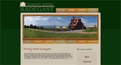 Preview of hotelradegast.cz